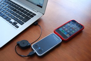 iPhoneと合体