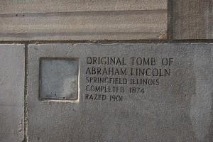 アブラハム・リンカーンのお墓から