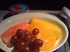 フルーツをチョイス