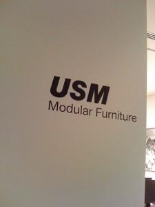 USM Modular Furniture Showroom Tokyo