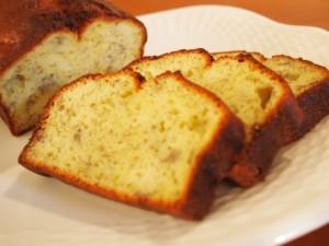バナナパウンドケーキ