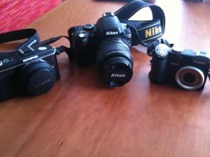 私のカメラちゃん達