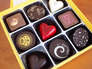 Pascal Caffetのチョコレート