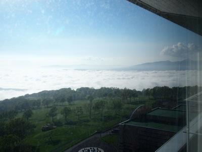 ウィンザーホテル洞爺 海側の眺め