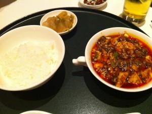 陳 建一の麻婆豆腐御膳