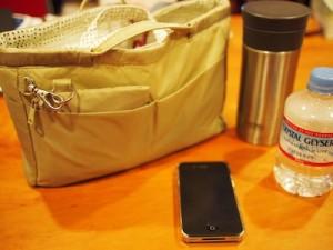 無印のバッグインバッグに全部入れてます。THERMOS以外。