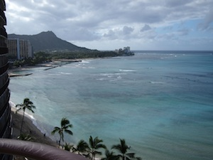 The Royal Hawaiian #1411 diamondhead view
