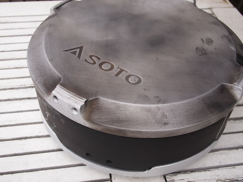 SOTO bbq grill