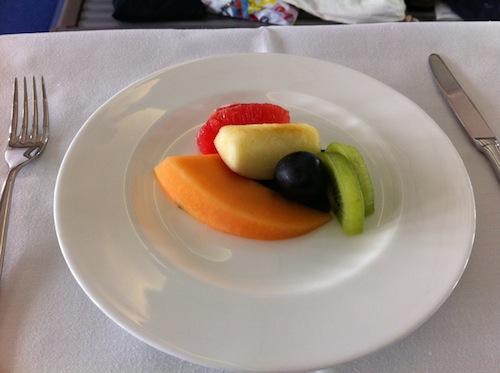 デザート。確か、選択肢としてはおまんじゅうとかもあったような…。