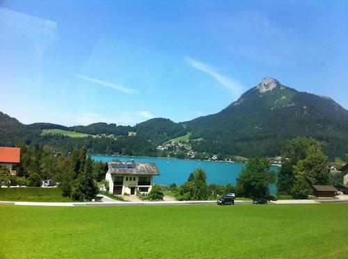 オーストリア湖水地方へ