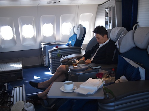 lufthansa firstclass interior