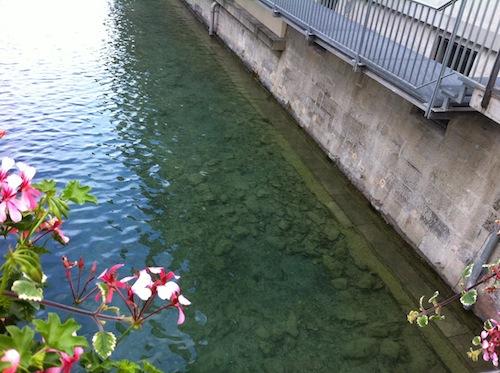Baur au Lac 運河