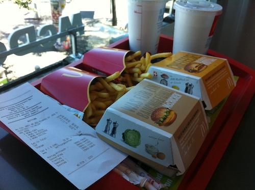 スイスのマクドナルド