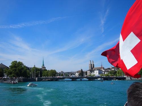 boat-ride on zurichsee
