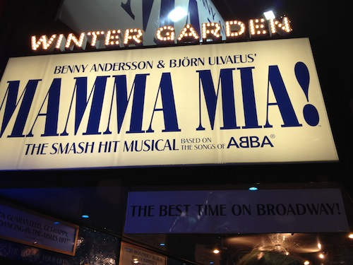 "Broadway Musical ""MAMMA MIA!"""