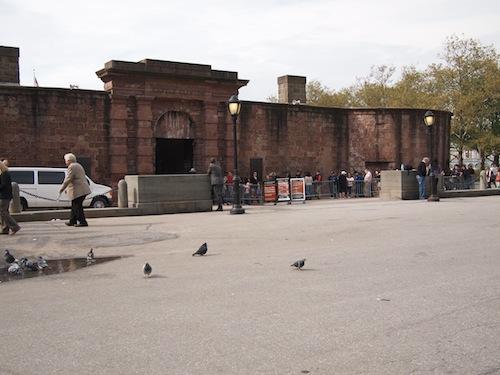 Battery Park チケットブース