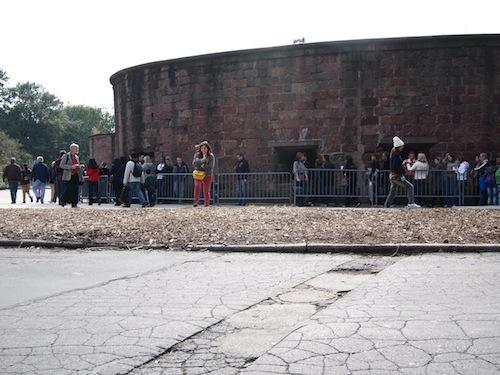 Battery Parkチケットブース