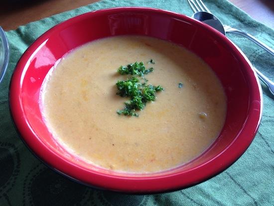 キャロットポタージュスープ