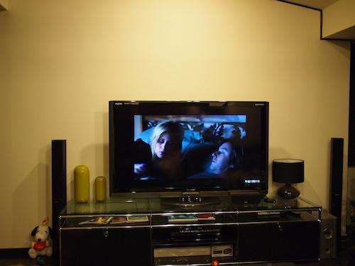 Apple TVでHulu見てるとこ