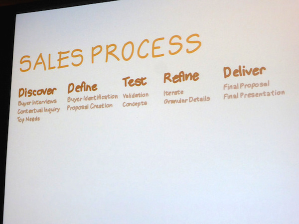 The UX of Sales