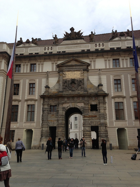 1st court of Prague castle