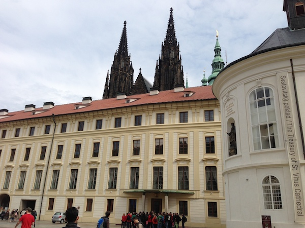 2nd court of Prague castle