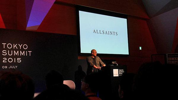 ALL SAINTSのCEO、William Kim氏によるセッション。「ビジネスリーダーとして、私たちはデザイン思考で問題解決に取り組まなければなりません。ビジネスをデザインするということです。」とも述べていて、最も共感できるセッションであった。