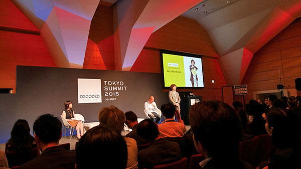 VOGUE JAPAN編集長の渡辺三津子氏、LINEの田端信太郎氏、C CHANNELの森川亮氏によるトークセッション