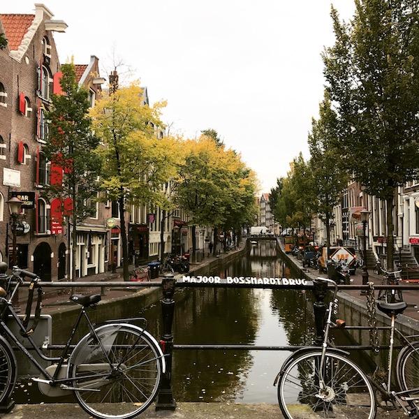 そしてもちろん、オランダはチャリの街!