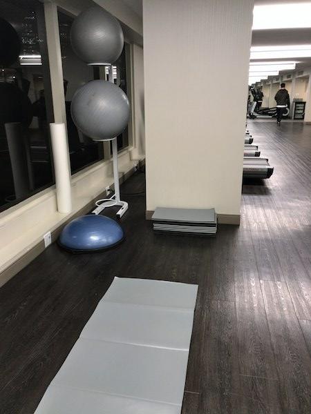 Hyatt Regency Vancouver Gym
