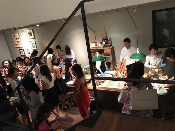 Maison de Vacances opening reception