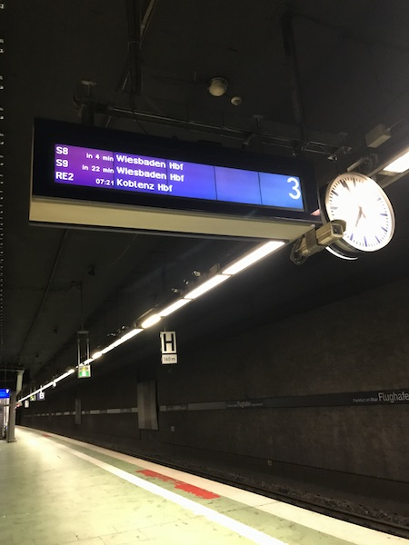 Frankfurt train station