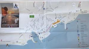マッダレーナ島地図