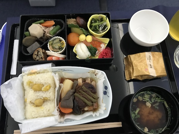 NH853 business class lunch