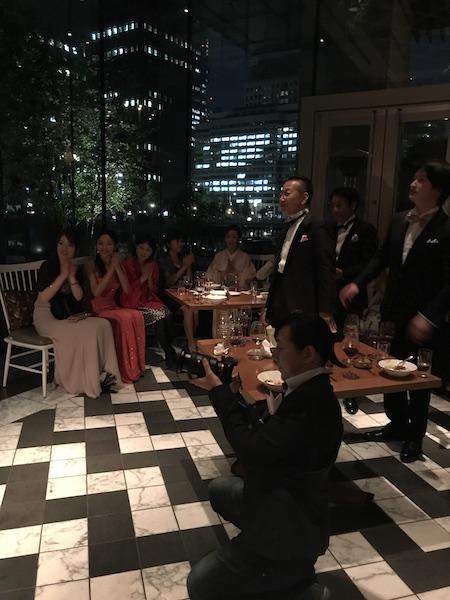 男子専科夜会@パレスホテル