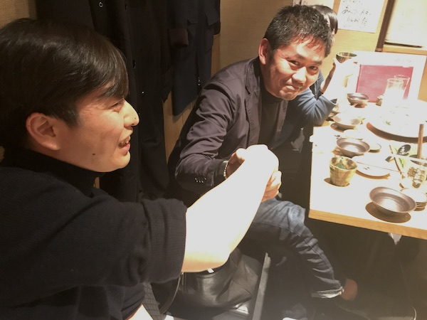 コンセント長谷川さん、Takram渡邉さん
