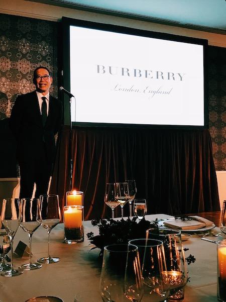Burberry Festive Dinner