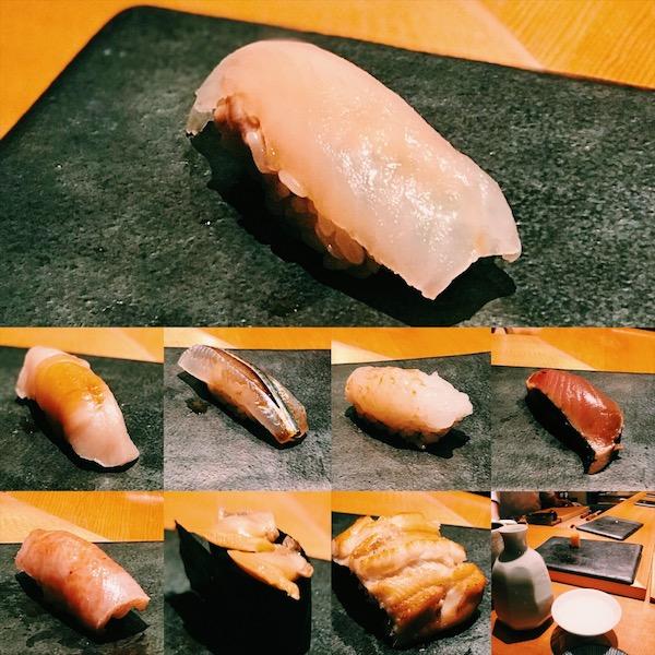 michelin 2-starred sushi restaurant, sushi kimura
