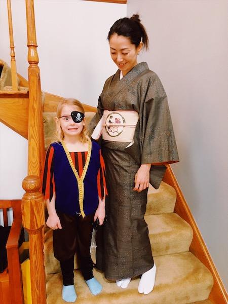pirate & kimono