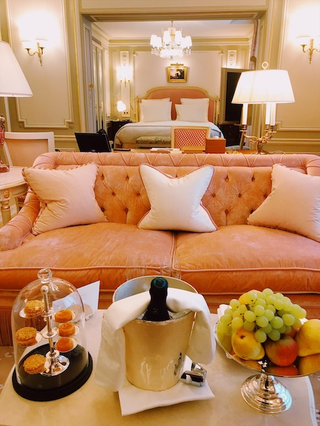 Ritz Paris Junior suite